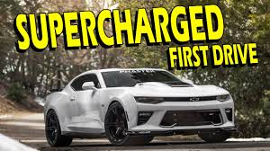 galaxy camaro procharger first drive cam headers exhaust p 1sc 1 2016 2017