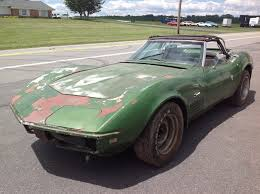 corvette project for sale wrecked wednesday project or parts car corvette