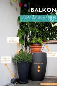 automatisches balkon bewässerungssystem mit gardena dect - Balkon Bewã Sserungssystem