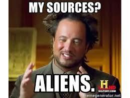 Aliens Meme - the 15 best aliens memes