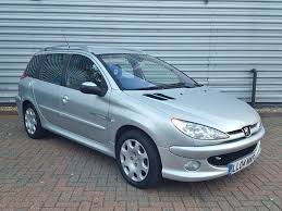pejo araba peugeot 206 sw quicksilver 1 4 5dr 2004 for sale aspinall cars
