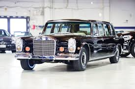 mercedes auction mercedes 600 pullman heads to auction