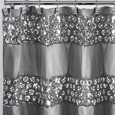 Best Fabric For Shower Curtain Embroidered Shower Curtain Set Shower Curtains Ebay