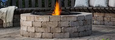 Firepit Kit Pit Kit Paver Brick Pits Weston Universal
