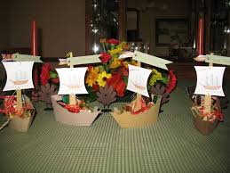 thanksgiving table favors by sthabit cards and paper crafts