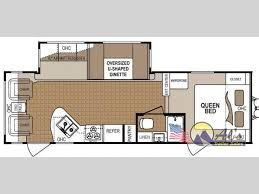 denali 5th wheel floor plans new 2014 dutchmen rv denali 265rl travel trailer at al u0027s trailer