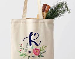 personalized bags for bridesmaids bridesmaid tote bag etsy