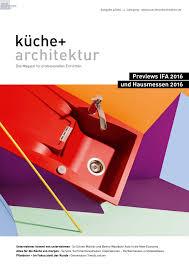 Einbauk Hen Im Angebot Küche Architektur 4 2016 By Fachschriften Verlag Issuu