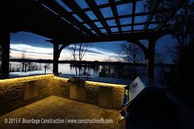 Outdoor Kitchen Construction General Construction Outdoor Kitchen F Bourdage Construction