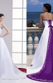 Unique Wedding Dress Biwmagazine Com Purple And White Wedding Dress Biwmagazine Com