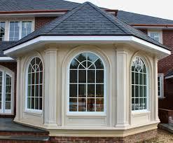 precast concrete design for all windows surrounds and moldings