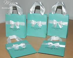 personalized party favor bags chanel party favors gift bag with satin ribbon and