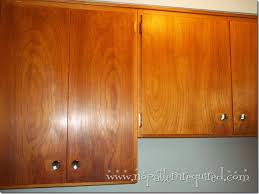 After Pic Vintage Kitchen Cabinets Cleaned With  And Howards - Cleaning kitchen wood cabinets