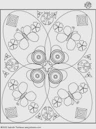 6 butterfly advance mandala coloring pages print kids