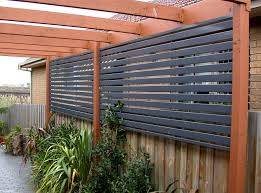 Backyard Landscaping Ideas For Privacy by Ace Longlife Balustrading U0026 Lacework Privacy Screens Garden