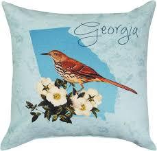 georgia brown thrasher pillow mmwslgabt 7 15 toys