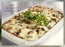 recette de cuisine alg駻ienne gratins gratin aux legumes