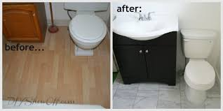 How To Re Tile A Bathroom - how to tile a bathroom floordiy show off u2013 diy decorating and