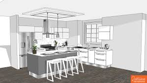 Sketchup Kitchen Design Gallery Category Sketchup Creations Image Sketchup Interior 20