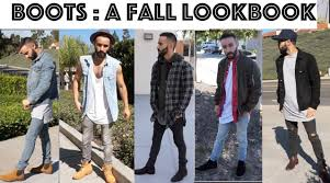 boots men u0027s fall fashion look book how to style chelsea boots