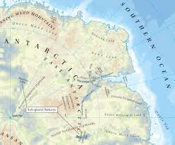 Antartica Map Ancient Lost World Hidden Beneath Ice Mapped For The First Time