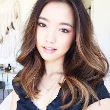 hair highlight for asian stylish balayage highlights asian hair photos decor ideas of