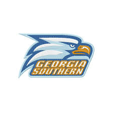 design free logo download georgia southern logos georgia southern eagles embroidery design