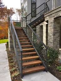 exterior metal stairs home design ideas homeplans shopiowa us