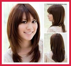 shoulder length hairstyles for thick hair round face flattering