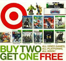 target black friday nintendo 3ds games target holding buy 2 get 1 free sale on all games starting