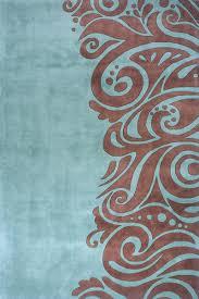 momeni new wave nw 088 turquoise area rug