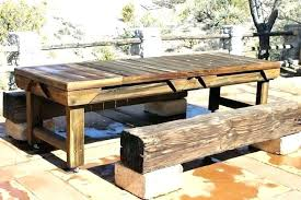 outdoor dining table plans rustic patio table rustic outdoor furniture plans rustic patio table