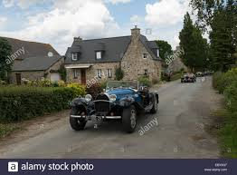 replica cars parade of bugatti replica cars at the chateau de la hunaudaye at
