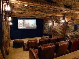 Home Cinema Decorating Ideas by Basement Home Theater Glamorous Decor Ideas Contemporary Home