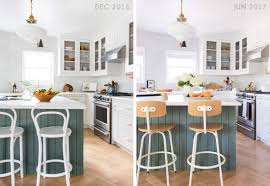 2017 kitchen emily u0027s kitchen and dining room reveal emily henderson