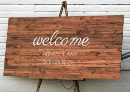rustic wood how to make a rustic wooden sign no pallet wood needed knick
