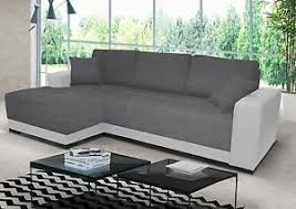 grey fabric corner sofa new cimiano leather fabric corner sofa z funkcja spania bed storage