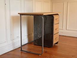 bureau metal et bois petit bureau bois fresh wooden metal design desk mango