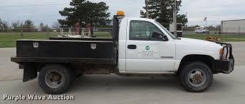 electric truck for sale 2005 gmc sierra 3500 flatbed pickup truck item da6502 so