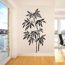 compare prices on wall art stickers tree online shopping buy low os1673 chinese bamboo tree wall art room sticker decal stencil free shipping china mainland