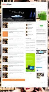 blogplaza responsive wordpress theme by templaza themeforest