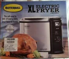 butterball xl butterball mb23010618 xl electric fryer large ebay