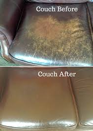 Can You Dye Leather Sofas The Before And After I Conditioned It Using Evoo I Ve Used