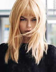 mid length layered haircuts with bangs shoulder length layered