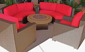 Best Patio Furniture Covers - contempo curved sectional sofa by lloyd flanders all weather