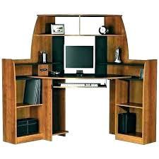 Computer Desks With Storage Corner Desk With Storage Bikepool Co