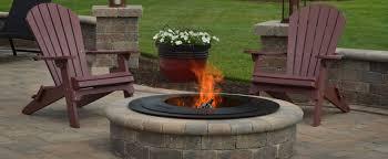 Wood Burning Firepit by Penn Stone Breeo Smokeless Wood Fire Pits