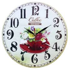 Vintage Home Decor Australia Wall Clock Shabby Chic Vintage Style Wooden Wall Clock Home