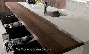 Slab Wood Bar Top Walnut Countertops Wood Countertop Butcherblock And Bar Top Blog