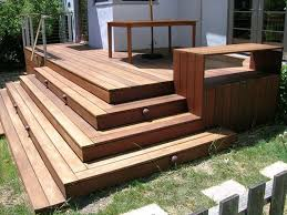 Corner Deck Stairs Design Cascading Stairs 90 Degrees Outside Landscaping Pinterest